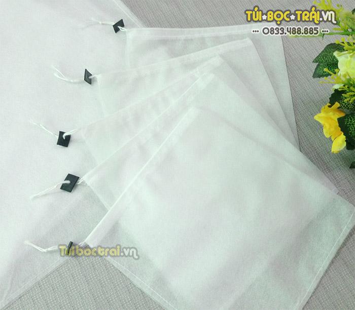 Túi vải bao nho kích thước 25x30 dây rút
