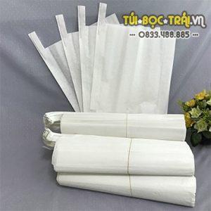 Túi giấy bao trái kích thước 30×35 màu trắng