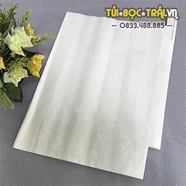 Túi giấy bọc trái cây kích thước 30x35 màu trắng