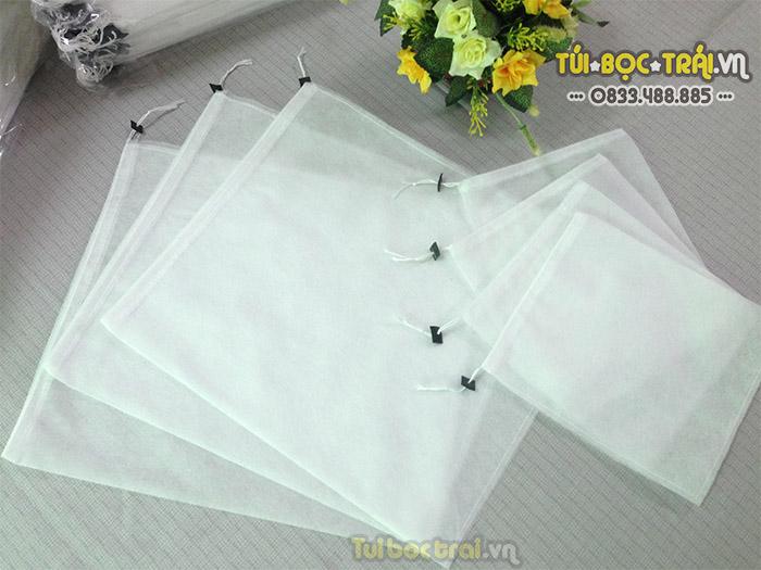 Túi vải bọc Thanh Long kích thước 20x27 dây rút