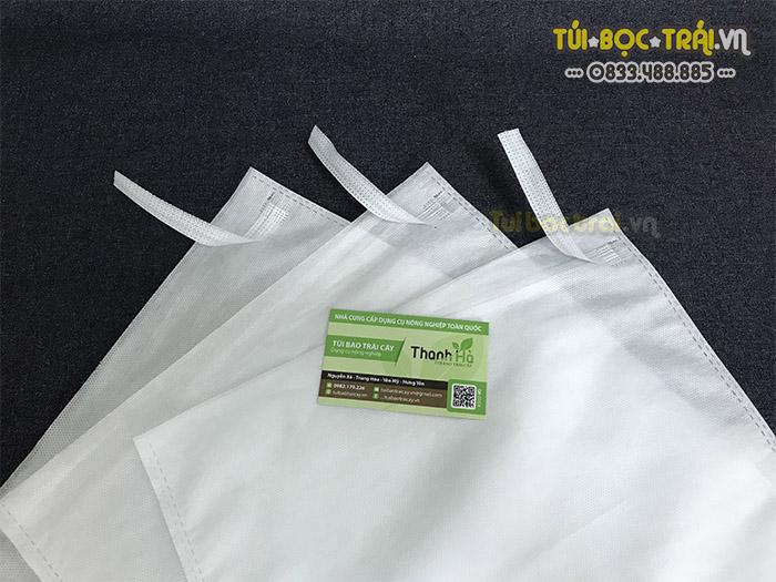 Túi vải bao trái cây dây kẽm 30x35 hàng Đài Loan