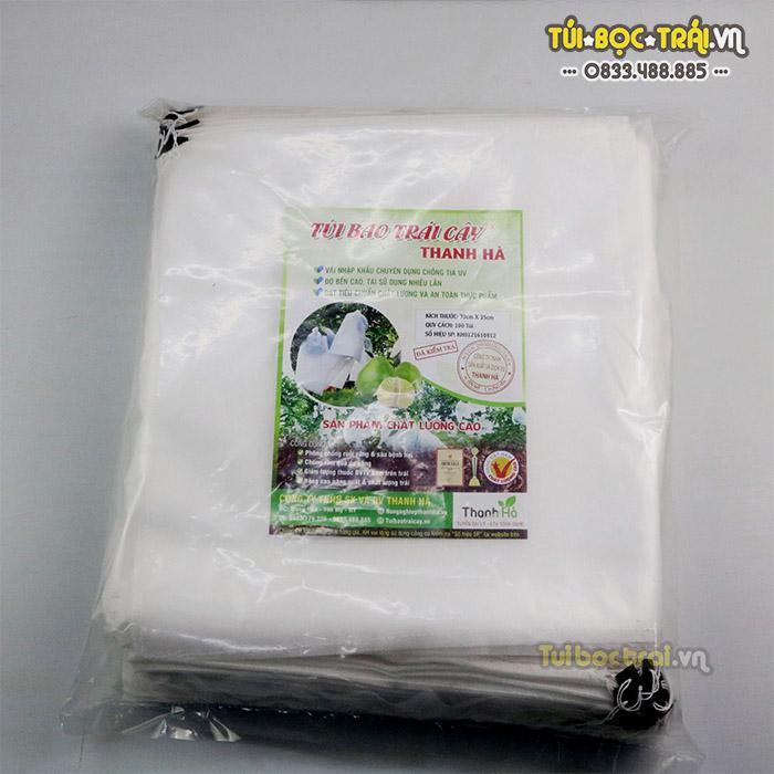 Túi vải bọc bưởi dây rút tiện lợi dễ sử dụng