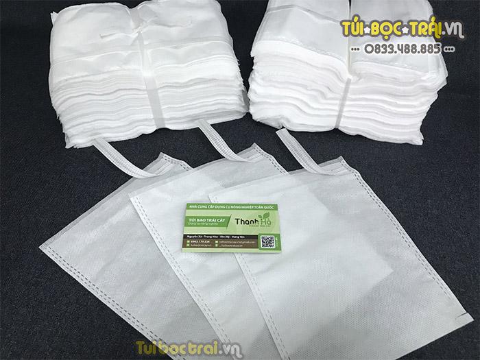 Túi vải bọc ổi loại dây kẽm 16x20