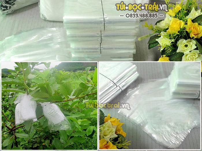 Túi nilon bọc ổi chất liệu nhựa PE