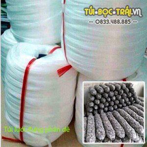 Túi lưới đựng phân dê nguyên cuộn trắng (1 kg)