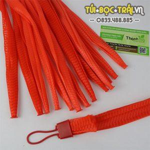 Túi lưới nhựa màu đỏ dài 35 cm (1 kg)