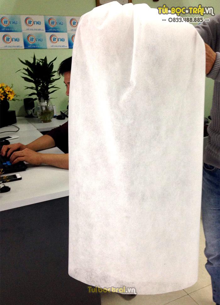 Túi vải bao buồng chuối sản xuất bởi cty Thanh Hà