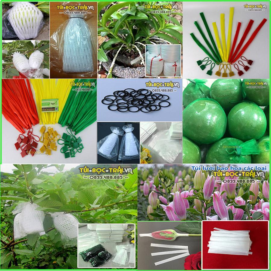 Công ty Túi bọc tái còn cung cấp xốp lưới và túi lưới nhựa